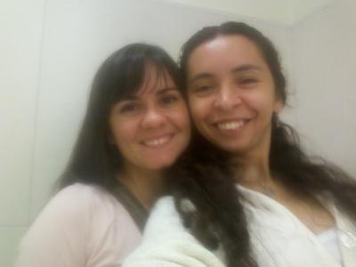 Cinthia Almeida e Raquel Gonzaga